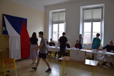 Studentské volby na GJVJ 2021